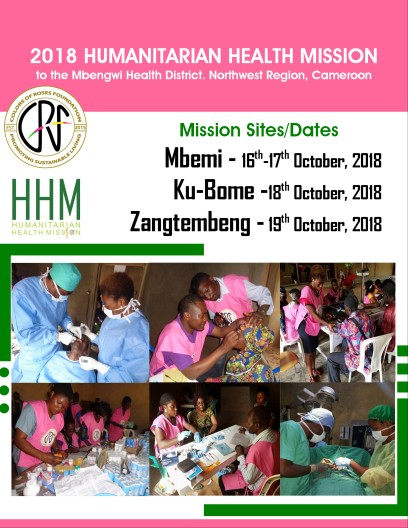 2018 HUMANITARIAN HEALTH MISSION